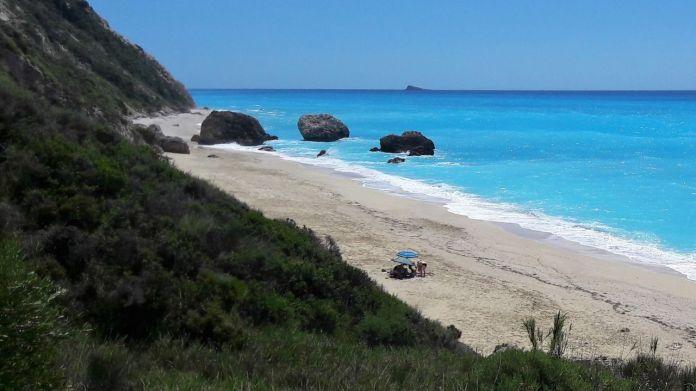 Megali Petra beach,a true paradise!
