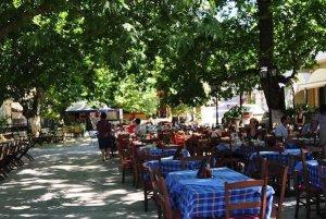 Main square of Karya