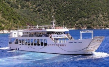 Ferries to Ithaka & Kefalonia