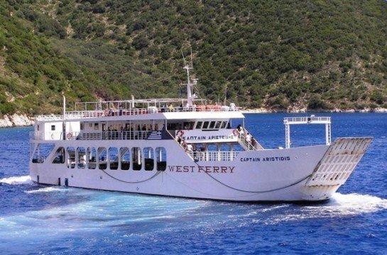 Ferries to Ithaka & Kefalonia