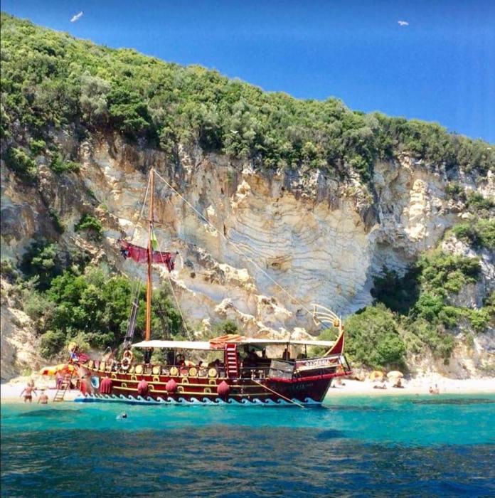 Lefkada Boat Cruises Historical Boat