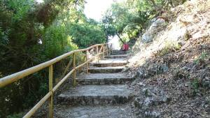 Path from Spilia to Spartochori