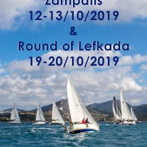 Round Lefkas and Zampatis Race 2019 Flyer