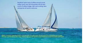 Lefkada Round Lefkas Sailing Event 2016 Flyer