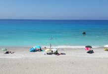 Secluded beaches Lefkada