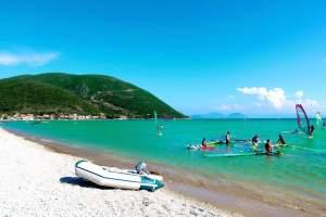Ponti beach Vasiliki Lefkada