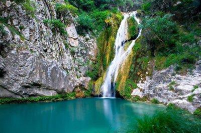 Dimosari Waterfalls Nidri Lefkada