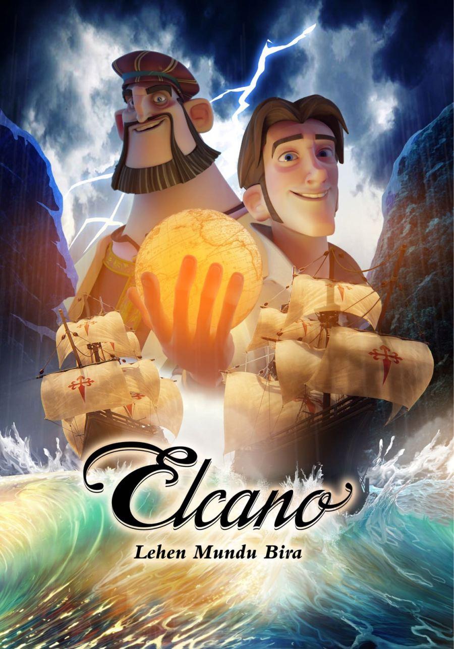 Elcano, Lehen Mundu Bira filmaren kartela