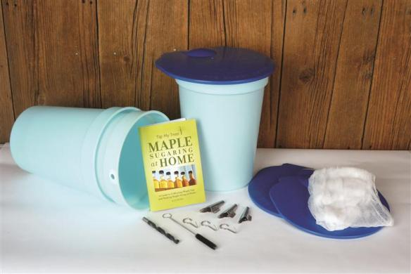 Step-by-step guide and kit will help you tap maples like a pro. Click the picture to find out more.