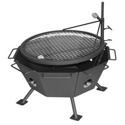 Backyard Fire Pit Grill from Lehmans.com or Lehman's in Kidron, Ohio
