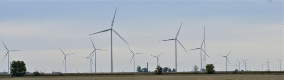 Wind farm, Ohio-Indiana state line, OH-30.