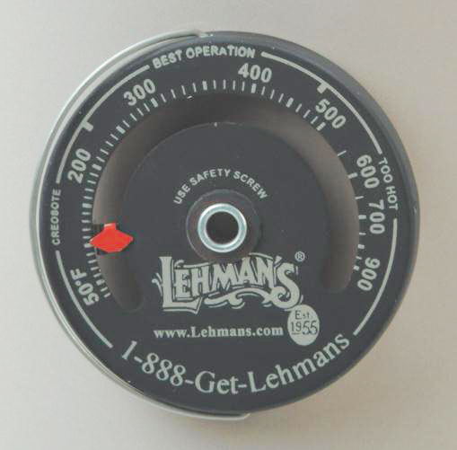 Magnetic Stovepipe Thermometer for wood stoves