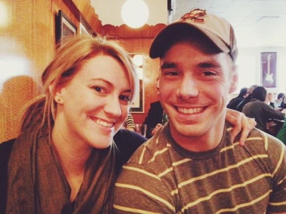 Alison and her husband Jacob.