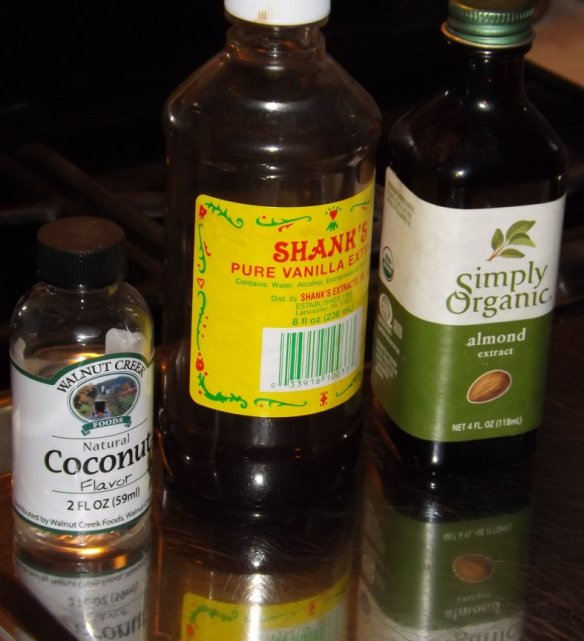 These are the flavorings I use. 1 dram equals one teaspoon.
