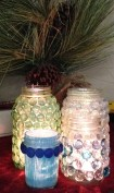 """We called these jars """"the Frozen set"""" because of the colors."""