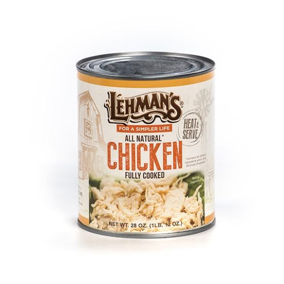 Lehman's Canned Chicken Meat 8 oz.