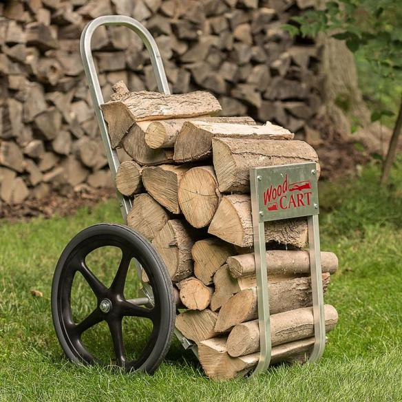 amish wood cart