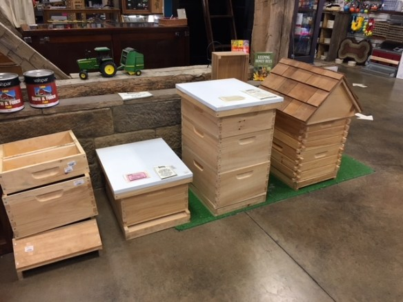 In Store Beekeeping Supplies