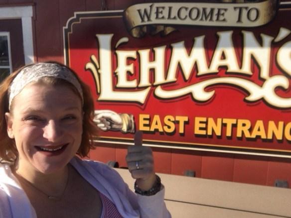 Sarah at Lehmans