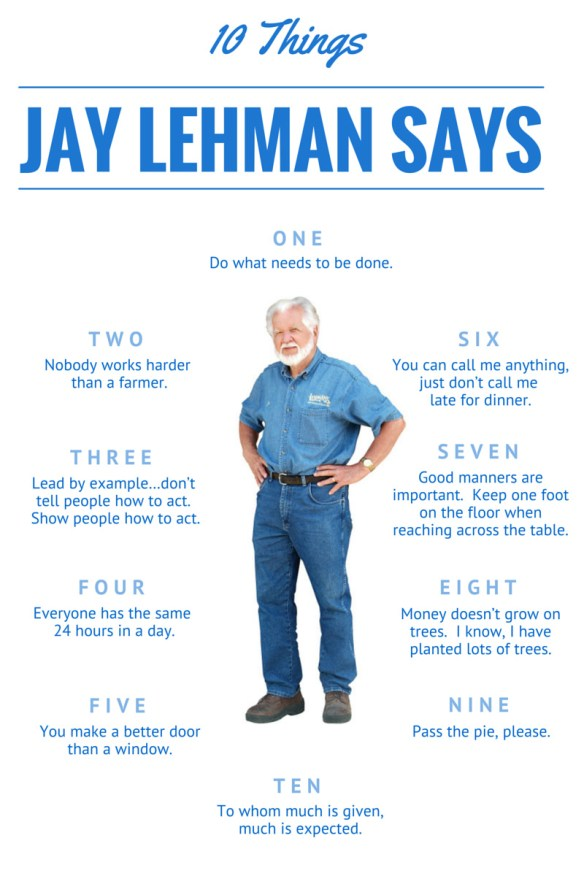 10 Things Jay Says