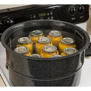 Enamelware Canner