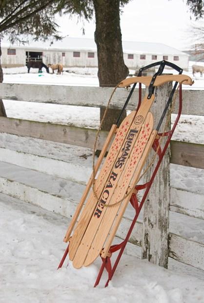 Lehman's racer sled