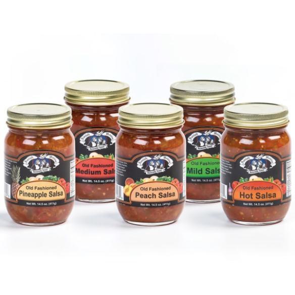 amish wedding salsa
