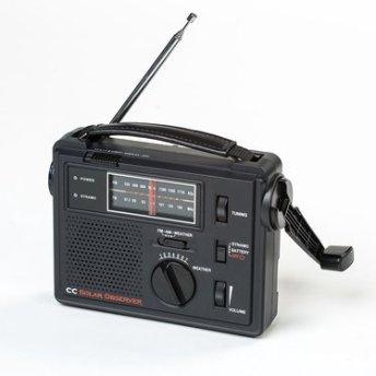 solar emergency radio