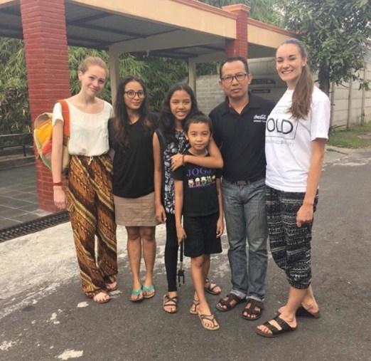 Allison in Indonesia