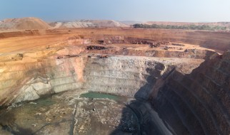 02-Open Pit Operation, Congo Mining #2