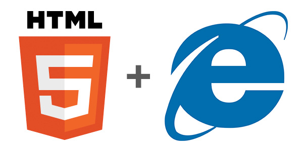 HTML5 + IE