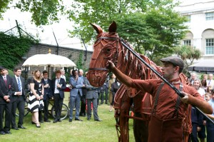 Downing St War Horse