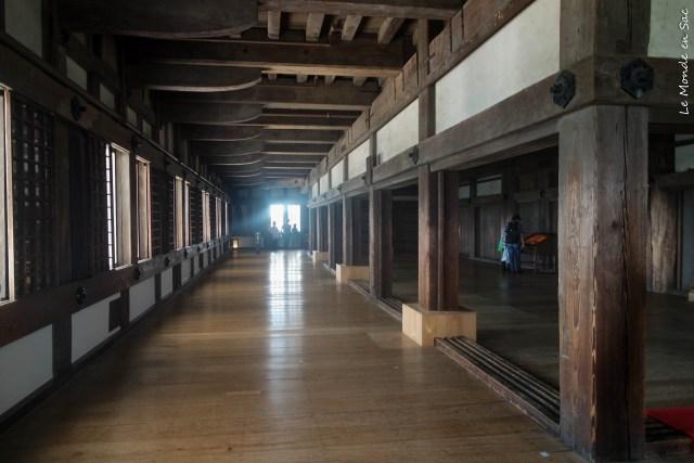 Interieur du château d'Himeji