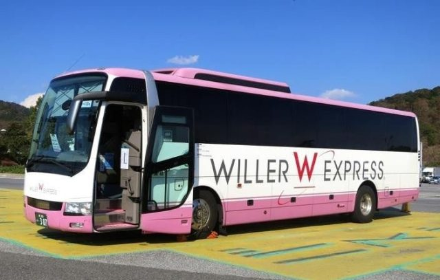 willer bus japon