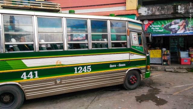 Bus de Chiang Rai à Chiang Khong