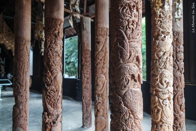 Black House Chiang Rai oeuvre