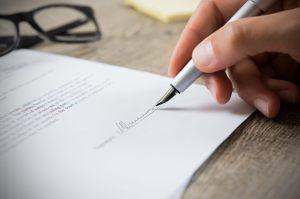 Contrato de exclusividad, firma de abogados
