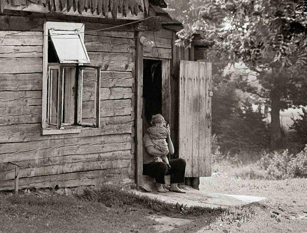 fotografia wsi lata 70