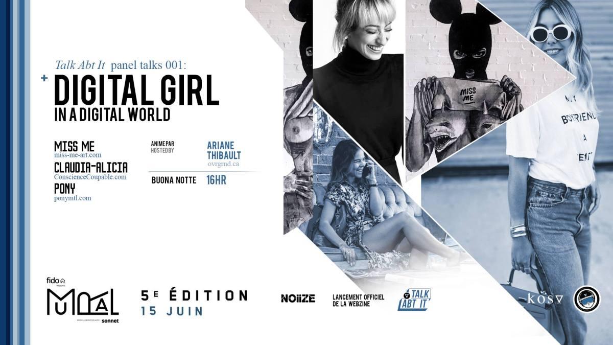 Digital girl in a digital world