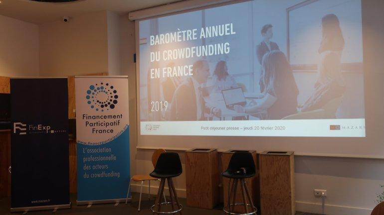 Baromètre 2019 du crowdfunding