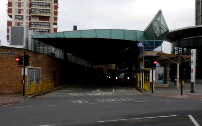 TfL Canada Water Bus Station