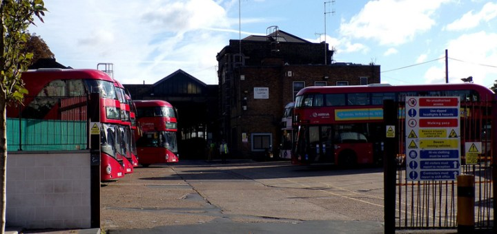 Arriva London Clapton Bus Garage