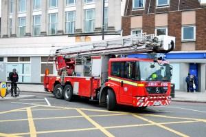 London Fire Brigade Mercedes Benz Econic BX57 CBU
