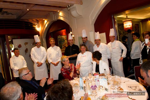 soirée caritative Chefs - les Trésoms Annecy