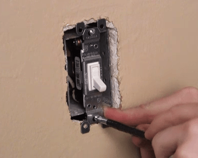how to install a single pole light switch  how to  leviton