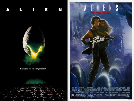 2018 31 Days of Scary Movies - October 13 - Alien and Aliens