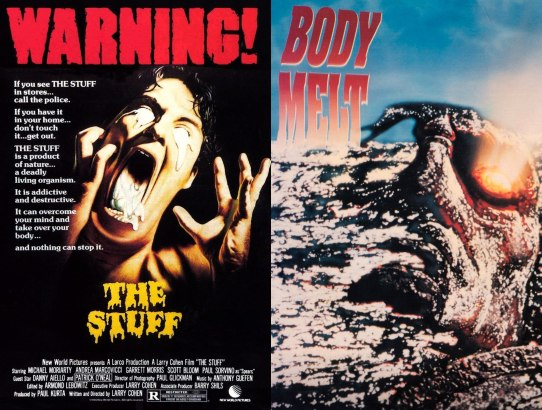 2018 31 Days of Scary Movies - October 20 - The Stuff and Body Melt