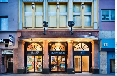 Das Lichtspiel & Kunsttheater Schauburg existiert seit 1912 in der Brückstraße. Foto © Dietrich Hackenberg