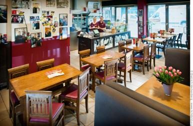 vabene Restaurant - Autogrammwand. Foto © Dietrich Hackenberg