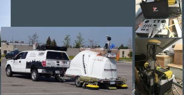 Sensors and software Towed Array for underground infrastructure mapping